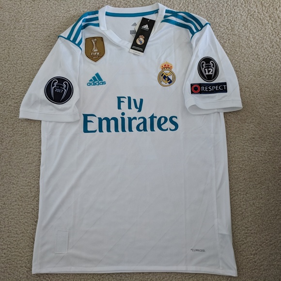 285f51edb Ronaldo Real Madrid Home Champions League Jersey